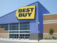 Picture of a Best Buy storefront.